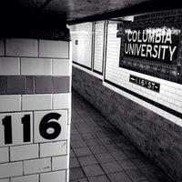 Photo taken at MTA Subway - 116th St/Columbia University (1) by Jeffrey P. on 5/21/2013