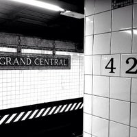 Photo taken at MTA Subway - 42nd St/Grand Central (4/5/6/7/S) by Jeffrey P. on 5/15/2013