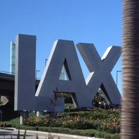 Photo taken at LAX Sign by Jeffrey P. on 10/26/2012