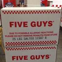 Photo taken at Five Guys by Jeffrey P. on 11/23/2012