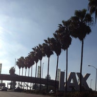 Photo taken at LAX Sign by Jeffrey P. on 10/30/2012