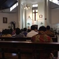 Photo taken at Gereja Katolik St. Paulus by Roland L. on 4/1/2016