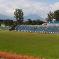 Photo taken at Stadion Siliwangi by Roland L. on 3/20/2016