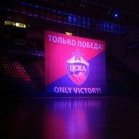 Photo taken at Alexander Gomelsky CSKA USH by Nadia P. on 10/9/2012