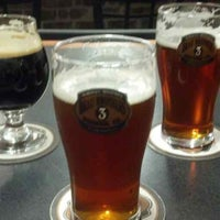 Photo taken at Brau Brothers Brewing Company by James H. on 10/18/2013