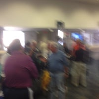 Photo taken at Gate D8 by JoAnn L. on 3/29/2013