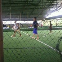 Photo taken at Cimahpar Futsal by Santi W. on 3/29/2013