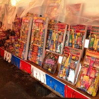 Photo taken at Galaxy Fireworks by Luis F. on 7/4/2013