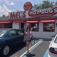 Photo taken at Mel's Hot Dogs by Luis F. on 7/27/2013