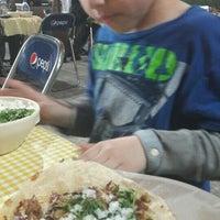 Photo taken at Tacos Los Primos by Mariela R. on 3/15/2016