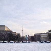 Photo taken at King's College Circle by Anas F. on 1/22/2013