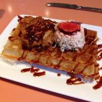 Photo taken at Wafels & Dinges Cafe by E J K. on 7/24/2013