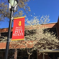 Photo taken at Pittsburg State University by Peter R. on 4/3/2016