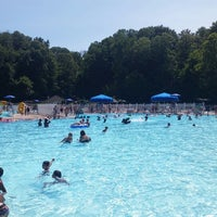 Photo taken at Burdette Park by Peter R. on 7/5/2014