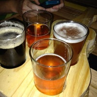 Photo taken at Steel String Brewery by Aaron N. on 7/13/2013