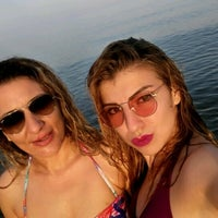 Photo taken at Tece Plajı by Yağmur . on 5/9/2017