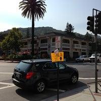 Photo taken at Los Gatos Town Plaza by Cobalt on 9/25/2012