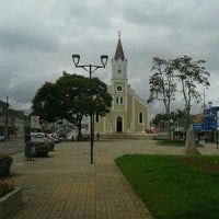 Photo taken at Catedral De São José Dos Pinhais by Aline V. on 2/22/2013