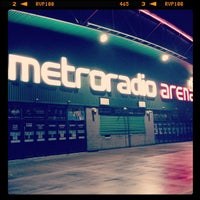 Photo taken at Metro Radio Arena by Jude S. on 3/8/2013
