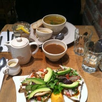 Photo taken at Le Pain Quotidien by WanderLust G. on 3/10/2013