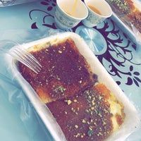 Photo taken at كنافه حبيبه by Noura A. on 3/16/2017