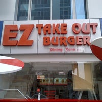 Photo taken at EZ Takeout Burger by Justin R. on 2/19/2013