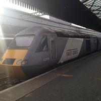 Photo taken at Aberdeen Railway Station (ABD) by Iain F. on 5/4/2013
