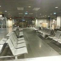 Photo taken at Terminal D by Anastasia K. on 4/18/2013
