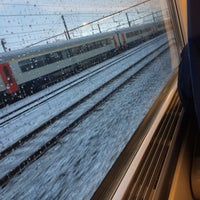 Photo taken at Trein Oostende > Torhout by Jolien C. on 3/7/2016