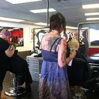 Photo taken at DYE Salon by Mary H. on 7/9/2013