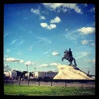 Photo taken at Bronze Horseman by Yu® Y. on 7/2/2013