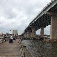Photo taken at Dunlawton Bridge by JD B. on 10/27/2012