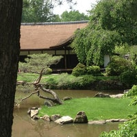 Photo taken at Shofuso Japanese House and Garden by Steven G. on 6/9/2013