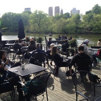 Photo taken at The Loeb Boathouse by Andrew K. on 5/14/2013