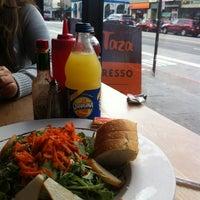 Photo taken at Cafe La Taza by Jassie T. on 9/21/2013