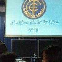 Foto tomada en Colegio Alexander Fleming por Cristián M. el 12/14/2012