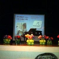 Photo taken at Teatro Pedro Salomao Jose by Valmir A. on 10/3/2012