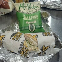 Photo taken at Which Wich? Superior Sandwiches by Randy C. on 10/31/2012