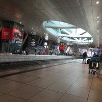 Photo taken at Frankfurt Airport Int'l Railway Station by Doris d. on 4/4/2016
