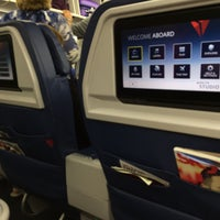 Photo taken at Delta Flight 2355 ATL-LAX by Dom A. on 5/6/2016