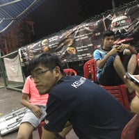 Photo taken at Galaxy Futsal Bangi by Muhd N. on 7/5/2017
