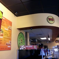 Photo taken at Moe's Southwest Grill by Vicky K. on 1/27/2013