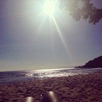 Photo taken at Barra do Sahy by Areta M. on 11/13/2013