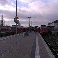 Photo taken at Bahnhof Euskirchen by Attila N. on 12/14/2013