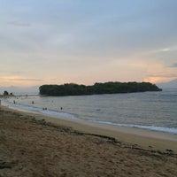 Photo taken at Nusa Dua Beach by Yohanes D. on 6/2/2013
