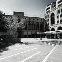 Photo taken at Nelson Mandela Square by Wati B. on 11/28/2012