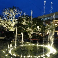 Photo taken at The Grove Water Fountain by Jinhyouk C. on 12/26/2012