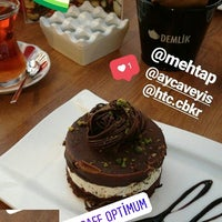 Photo taken at Teras Cafe Optimum by Hatice Ç. on 9/1/2017
