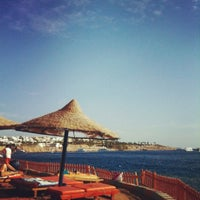 Photo taken at Pyramisa Resort Sharm El-Sheikh by Анастасия В. on 12/1/2012