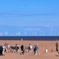 Photo taken at Skegness Beach by Ieight M. on 9/7/2013